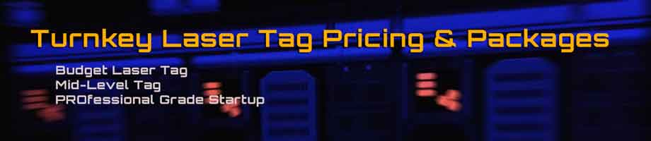 Costs to start a laser tag business